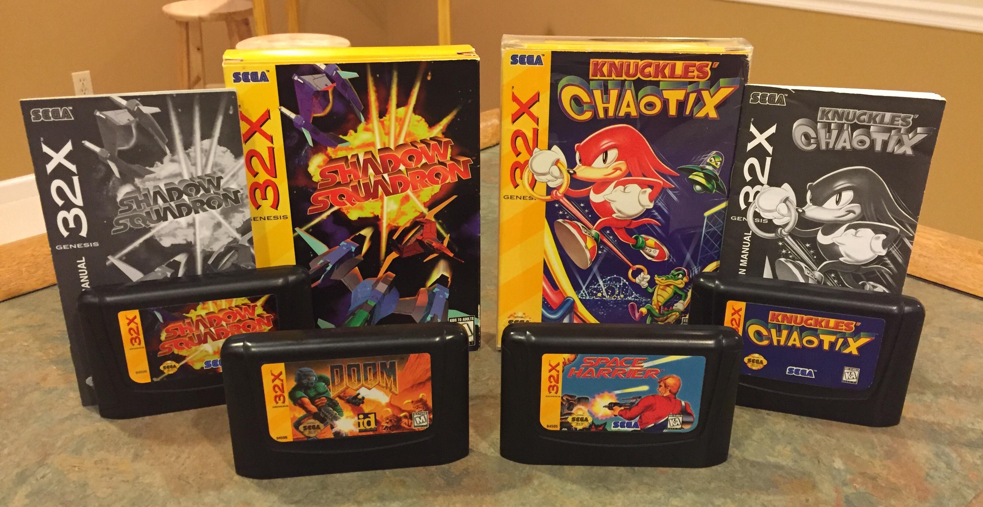 Sega CD & 32X Final Thoughts + New Additions – Cartridge Corner