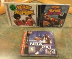 Dreamcast Sports Titles – NBA 2K1, Ready 2 Rumble Boxing 1 & 2