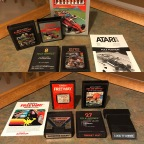 Racing and Randomness on the Atari 2600 – Air Sea Battle, Freeway, Gangster Alley, Indy 500, Lock n' Chase, Night Driver, Pole Position, Street Racer, Target Fun