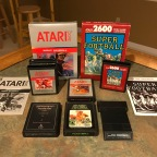 Atari Sports Titles – Football, Home Run, RealSports Baseball, RealSports Volleyball, Super Challenge Football, Super Football