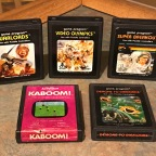 Atari Paddle Games – Demons to Diamonds, Kaboom!, Super Breakout, Video Olympics, Warlords