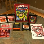 Adventure Themed Games for Atari – Haunted House, Swordquest Earthworld, Swordquest Fireworld, Venture, Wizard of Wor