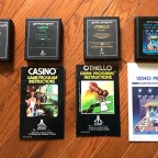Atari Strategy and Table Games – Blackjack, Casino, Othello, Video Pinball