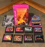 Sega Game Gear Titles – Columns, The Lion King, Mortal Kombat 2, Ms. Pac Man, Primal Rage, Sonic Labyrinth, Talespin, World Series Baseball