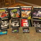 Atari Lynx Game Set pt. 1 – Hydra, Kung Food, Tournament Cyberball, Xybots