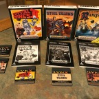 Atari Lynx Game Set pt. 2 – Batman Returns, California Games, Crystal Mines 2, Rampart, Steel Talons