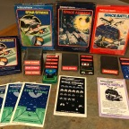 Space Titles for the Intellivision – Space Armada, Space Battle, Star Strike