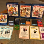 Intellivision Sports – Major League Baseball, NBA Basketball, NFL Football, PBA Bowling, PGA Golf, US Ski Team Skiing
