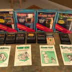 Coleco Titles for the Intellivision – Carnival, Donkey Kong, Donkey Kong Jr, Ladybug, Mouse Trap, Venture