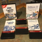 Action & Puzzle Games for the Master System – Alex Kidd: High Tech World, Captain Silver, Ghost House, Penguin Land, Quartet, Where in the World is Carmen Sandiego, Zillion II: The Tri Formation
