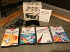 Master System Peripherals 2: 3D Glasses with Blade Eagle 3D, Maze Hunter 3D, Missile Defense 3D, Zaxxon 3D