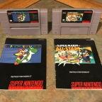 Mario Titles for the Super Nintendo – Super Mario World, Super Mario All Stars