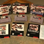 SNES Sports Games – NBA Live '95, NBA Live '97, Tecmo Super Bowl 3: Final Edition