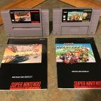 SNES Racing Titles – F-Zero & Super Mario Kart