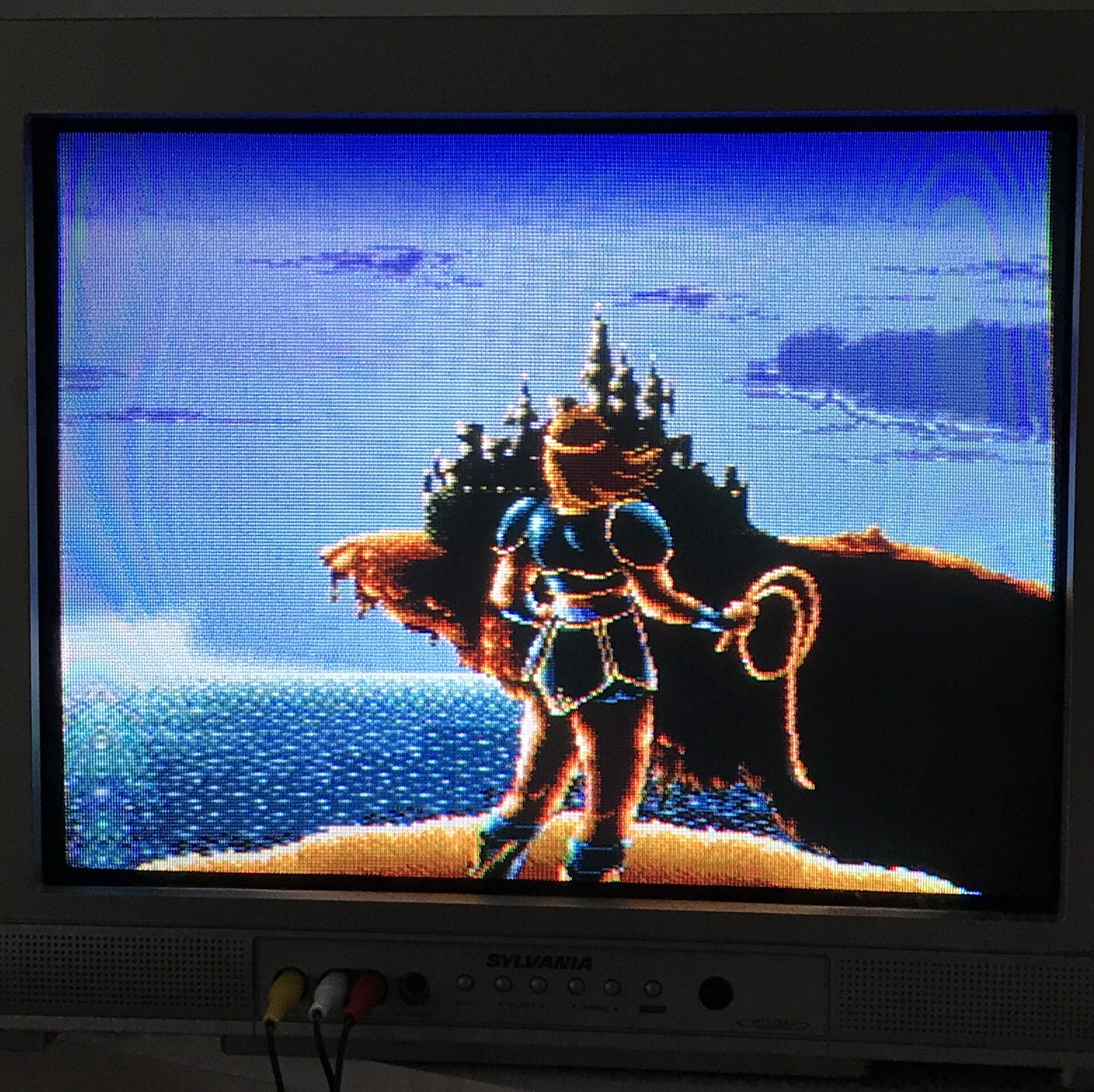 I spent the most time playing Super Castlevania IV and I finally beat it.