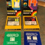 Channel F Videocarts 12, 14