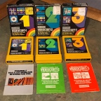 Channel F Videocarts 1, 2, 3