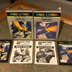 Arcadia Space Titles – Space Attack & Space Raiders