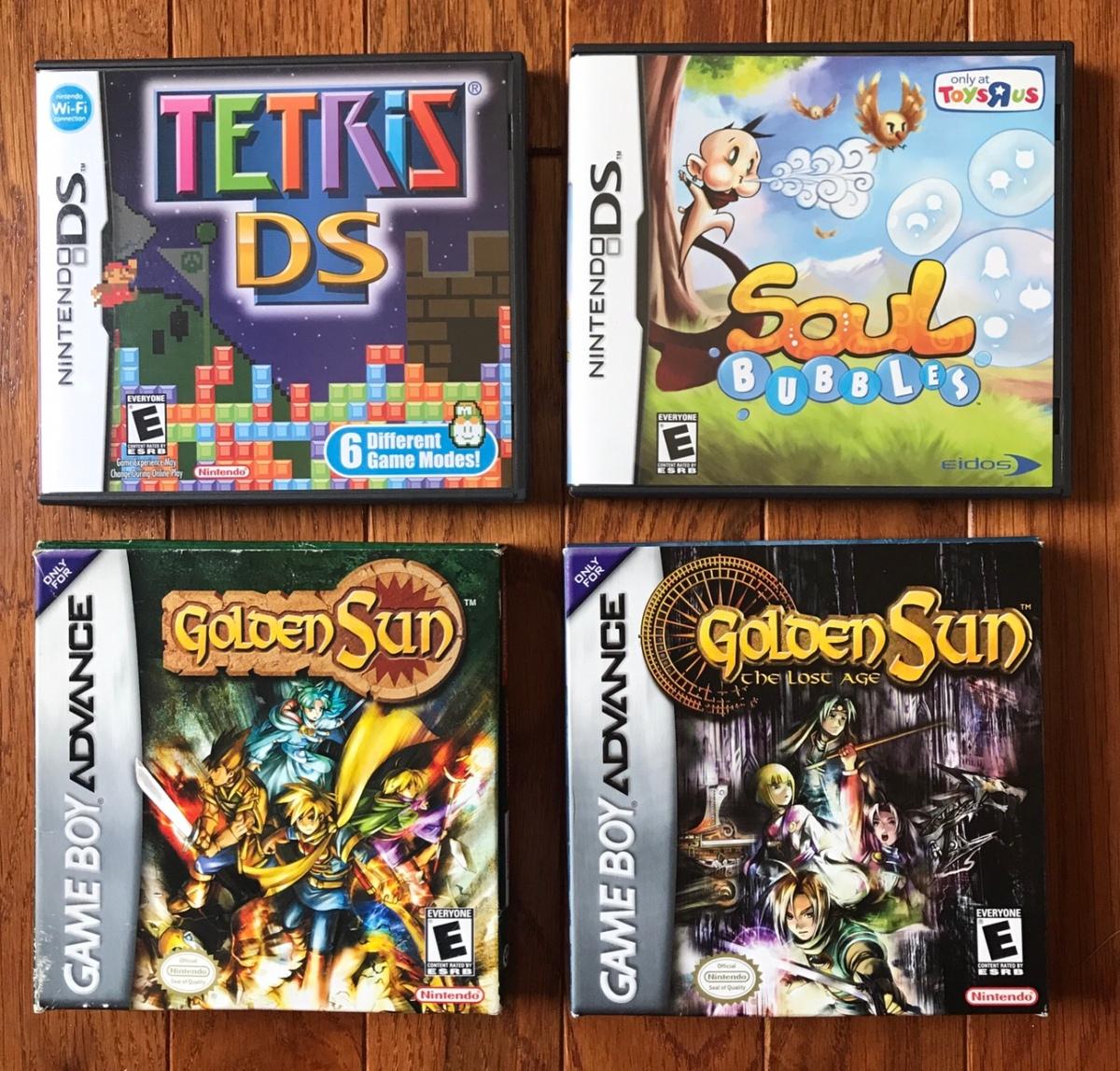 2000s Handhelds (Gameboy Advance, Nintendo DS, PlayStation