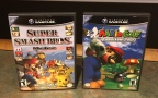 Mario & Friends Games & Racing Games for the Gamecube – Mario Golf, Super Smash Bros. Melee, Need For Speed Most Wanted, Need For Speed Underground, Simpsons Hit n' Run