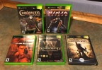 Xbox Hodgepodge – Sequels: Castlevania Curse of Darkness, Dead or Alive 3, The Elder Scrolls 3 Morrowind (Game of the Year Edition), Ninja Gaiden, Oddworld Stranger's Wrath