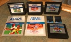 Atari 5200 Sports Titles – RealSports Baseball, RealSports Football, RealSports Tennis