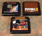 Activision Titles – Dreadnaught Factor, Kaboom, Pitfall II: Lost Caverns