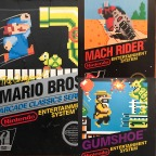 Early Nintendo Entertainment System (NES) Box Art Designs Pt 2 – Black Box Titles Continued