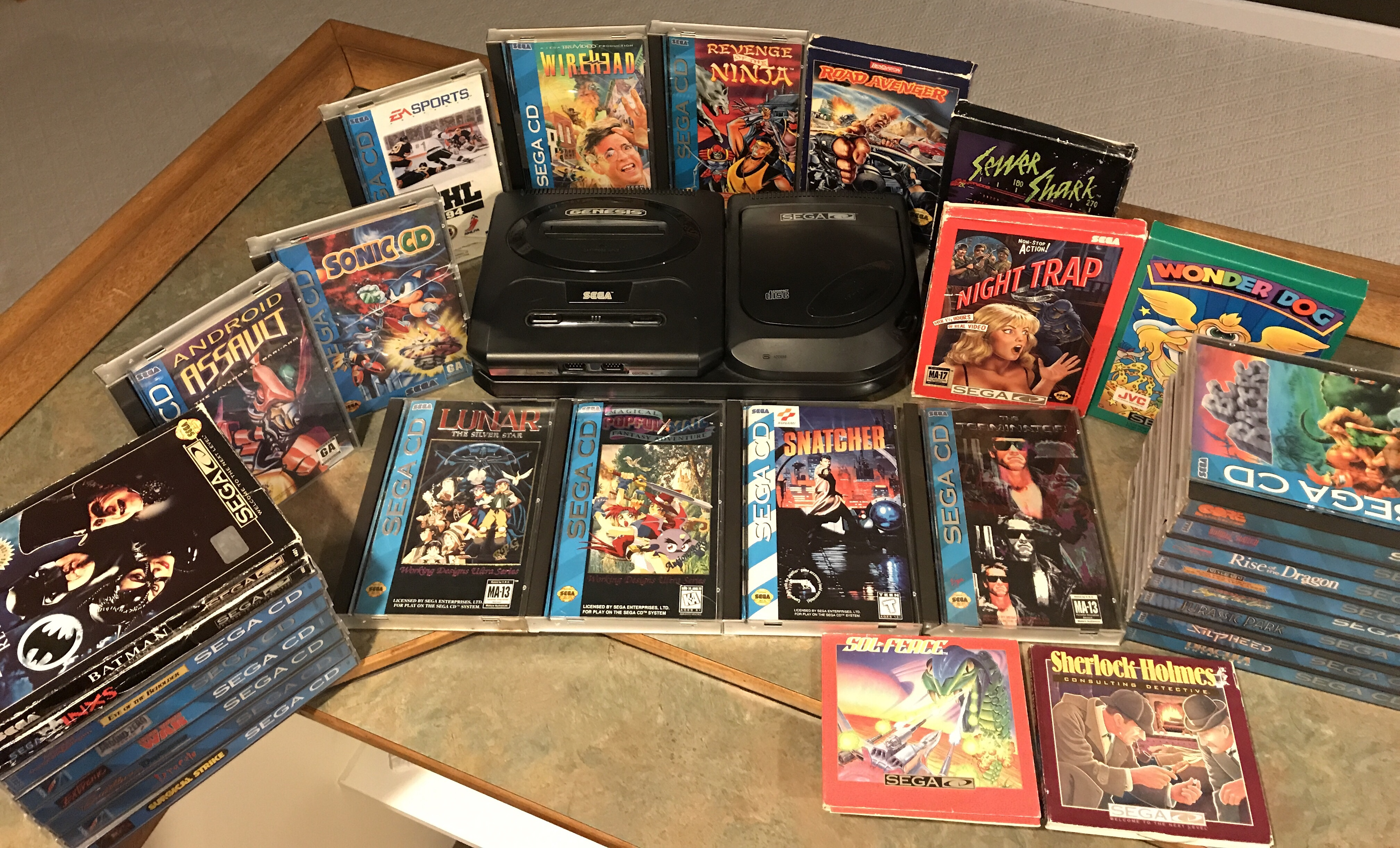 Sega CD – Collecting Goals – Cartridge Corner