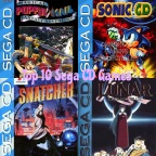 Top 10 Sega CD Games (In My Collection)