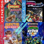 Games to Beat / Games I've Beaten – Sega Genesis/CD