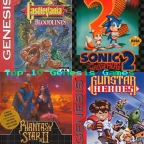 Top 10 Sega Genesis Games (In My Collection)