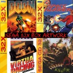 Sega 32X Box Artwork