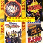 Top 5 Sega 32X Games (In My Collection)